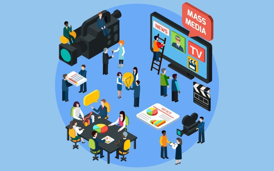 what are the forms of mass media