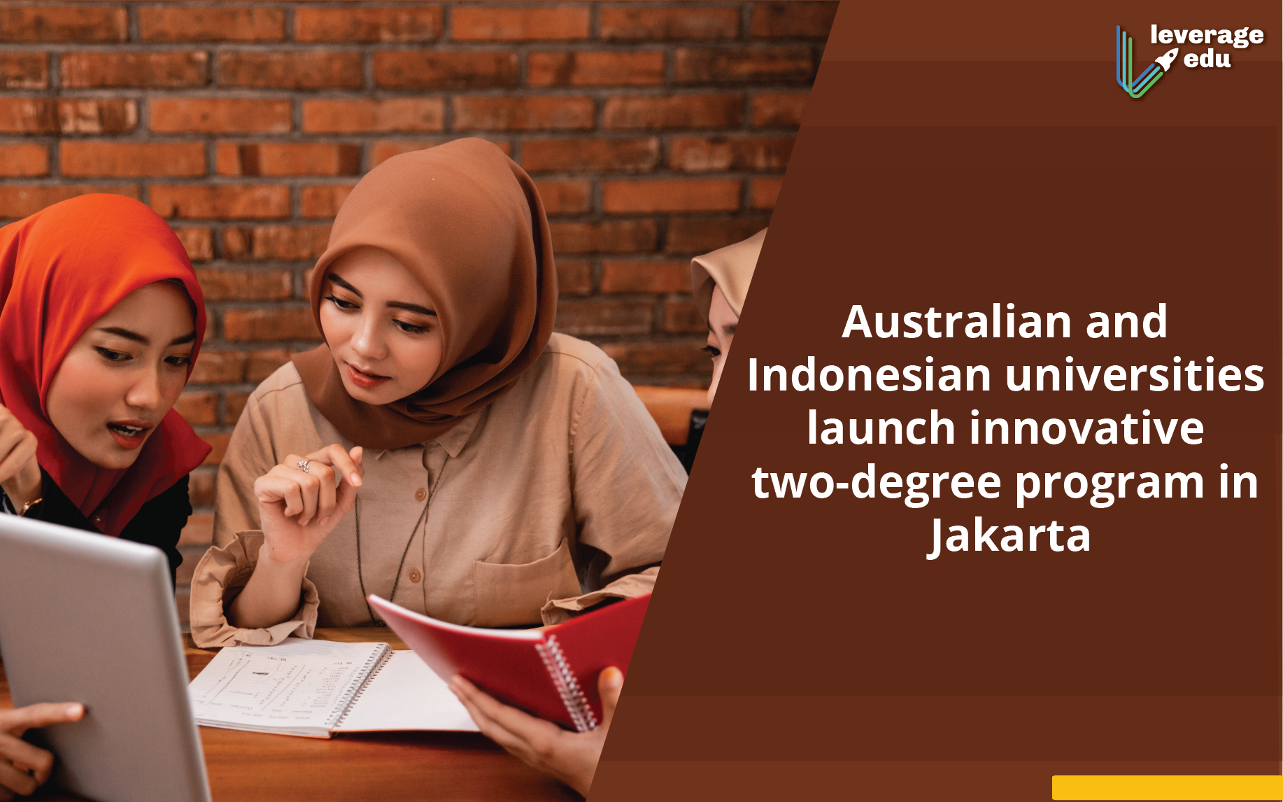 The University of Newcastle and Binus University Introduce a Joint Bachelor's Program