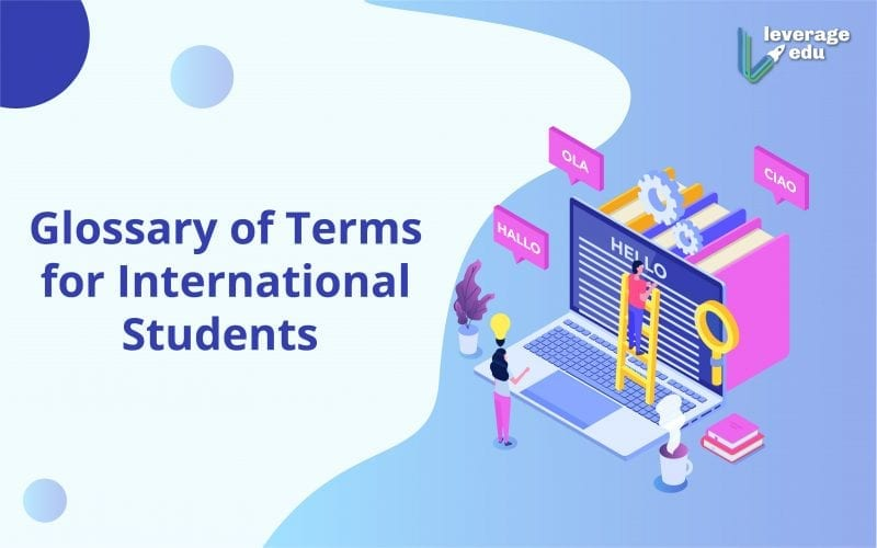 Glossary of Terms for International Students
