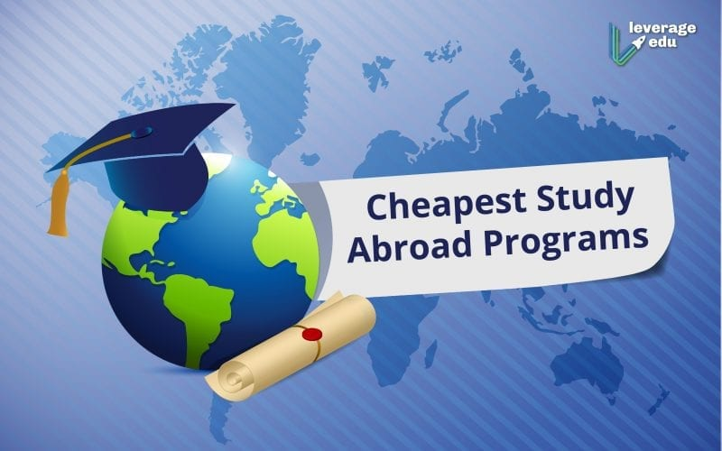 Cheapest Study Abroad Programs