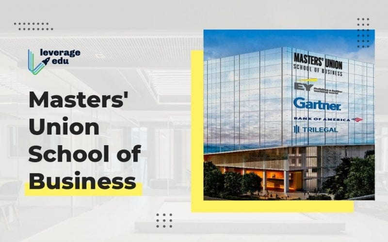 MUSB (Masters' Union School of Business)