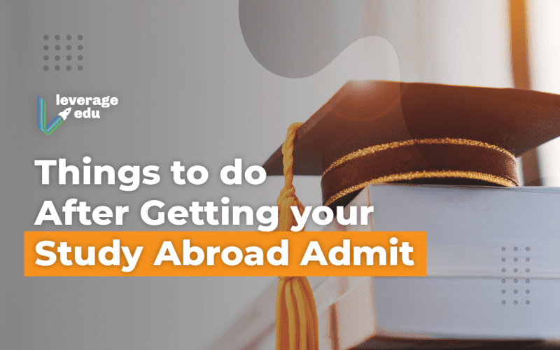 After Study Abroad Admit