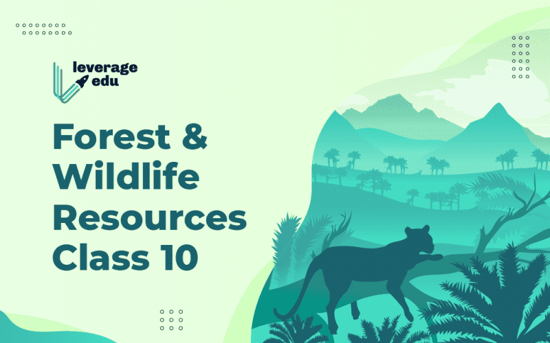 Forest and Wildlife Resources Class 10